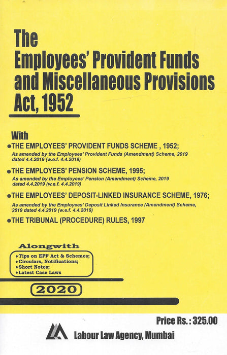 The Employees Provident Funds and Miscellaneous Provisions Act, 1952