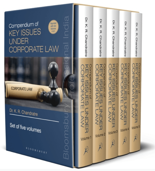 Compendium of KEY ISSUES UNDER CORPORATE LAW in 5 volumes