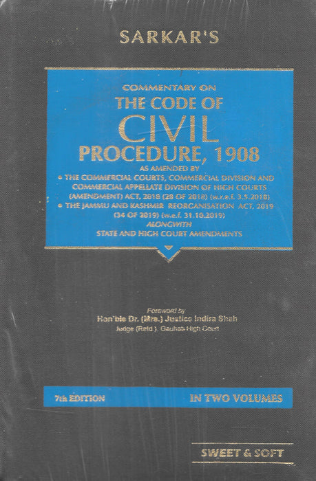 Commentary on The Code of Civil Procedure, 1908 in 2 vols