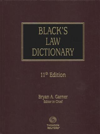 Black's Law Dictionary, 11th