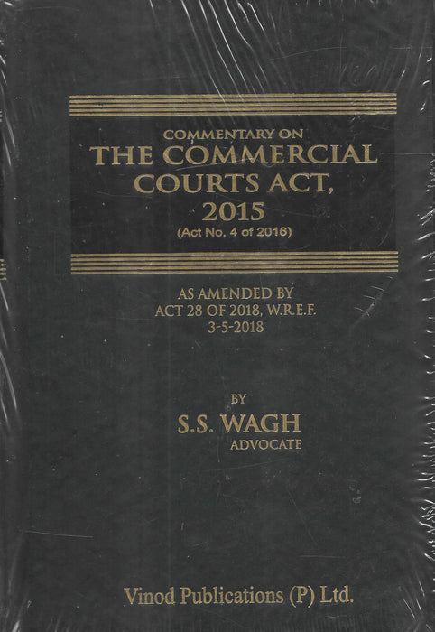 Commentary On The Commercial Courts Act