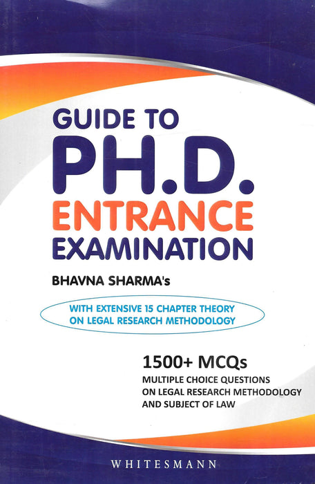 Guide to PH.D Entrance Examination