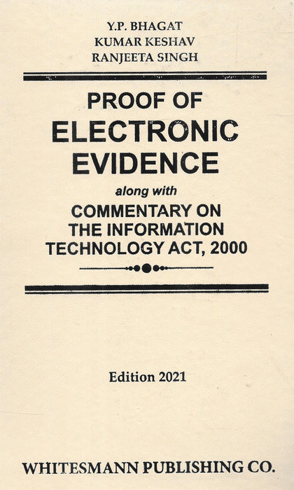 Proof Of Electronic Evidence