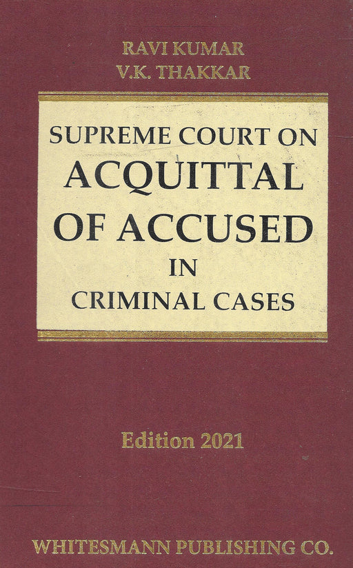 Supreme Court on Acquittal of Accused in Criminal Cases