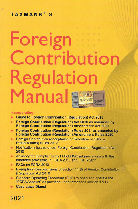 Foreign Contribution Regulation Manual