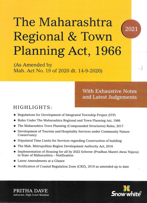 The Maharashtra Regional Town and Planning Act. 1966