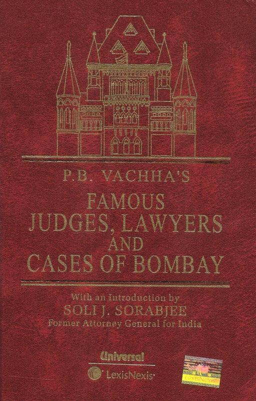 Famous Judges, Lawyers and Cases of Bombay by P.B. Vachha