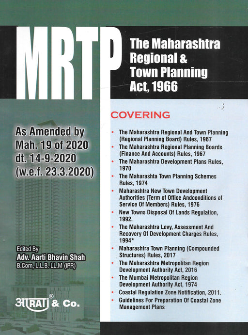 The Maharashtra Regional and Town Planning Act, 1966