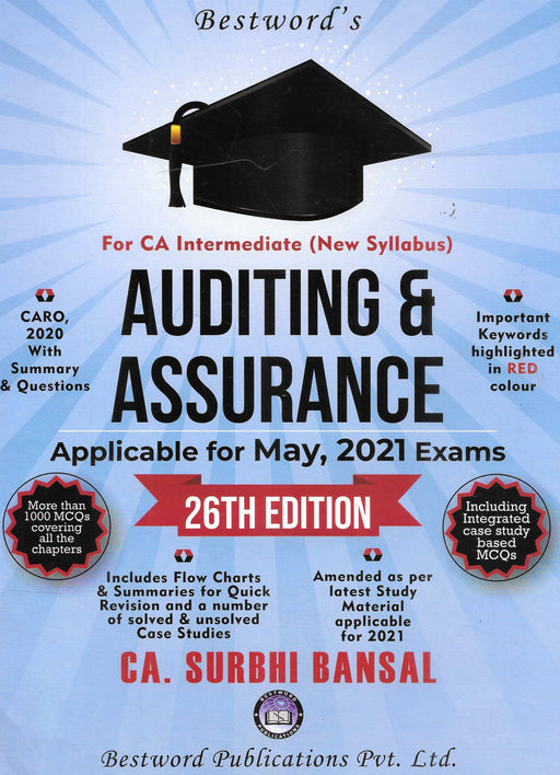 Auditing & Assurance For CA Intermediate-New Syllabus