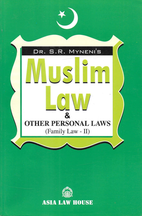 Muslim Law & Other Personal Law (Family Law-2)