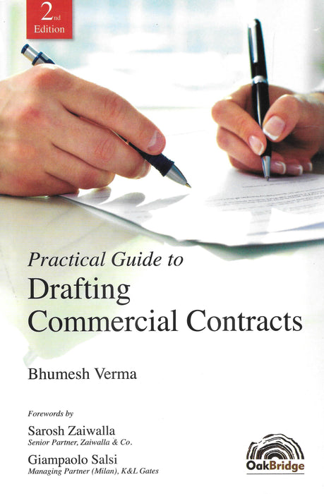 Practical Guide to Drafting Commercial Contracts by Bhumesh Verma