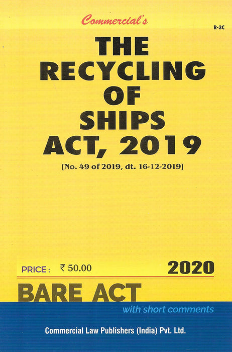 The Recycling of Ships Act,2019