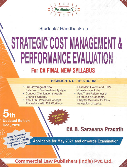 Students Handbook on Strategic Cost Management & Performance Evaluation