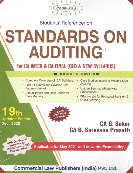 Students Referencer on Standards on Auditing