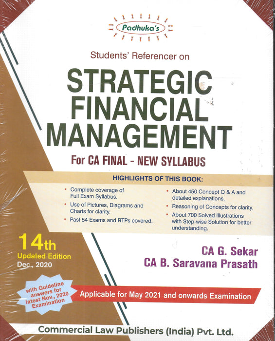 Students' Referencer On Strategic Financial Management-CA-final