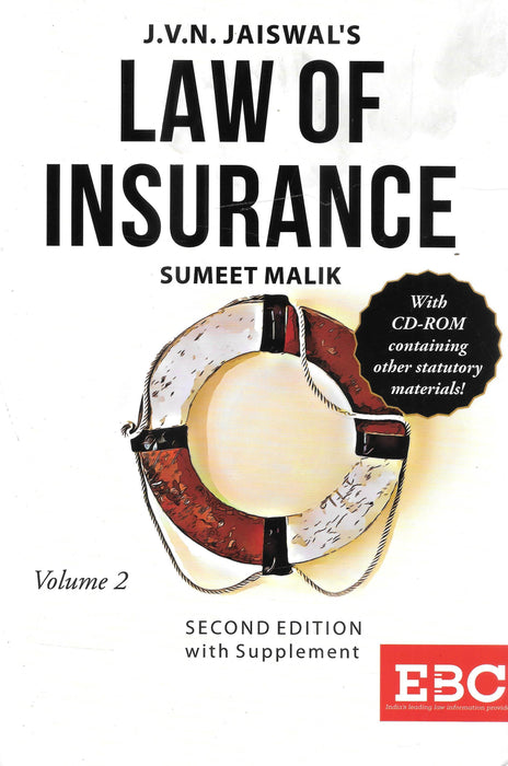 Law of Insurance in 2 vols by J V N Jaiswal