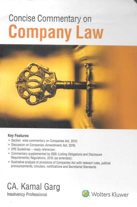 Concise Commentary on Company Law in 2 vols - Kamal Garg