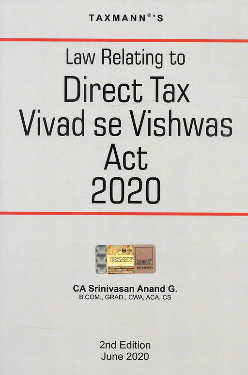 Law Relating to Direct Tax Vivad se Vishwas Act 2020