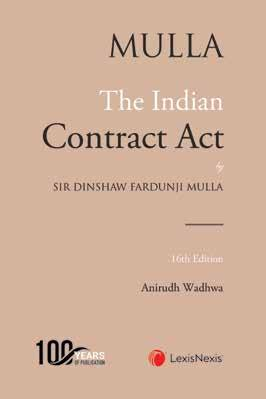 Mulla - The Indian Contract Act