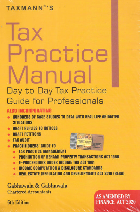 Tax Practice Manual Day to Day Tax Practice Guide for Professionals
