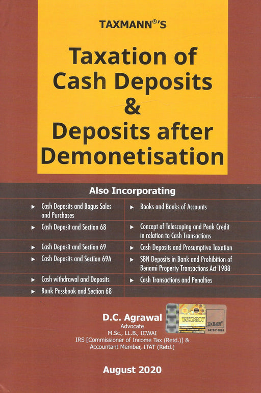 Taxation of Cash Deposits & Deposits after Demonetisation