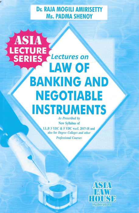 Lectures On Law Of Banking And Negotiable Instruments