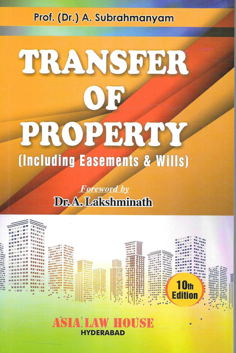 Transfer Of Property (Including Easements & Wills)