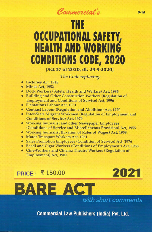 The Occupational Safety Health And Working Conditions Code