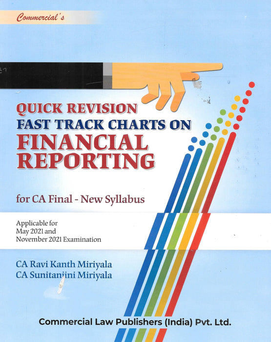 Quick Revision Fast Track Charts On Financial Reporting-CA Final