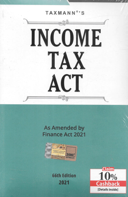 Income Tax Act As – Amended by Finance Act 2021