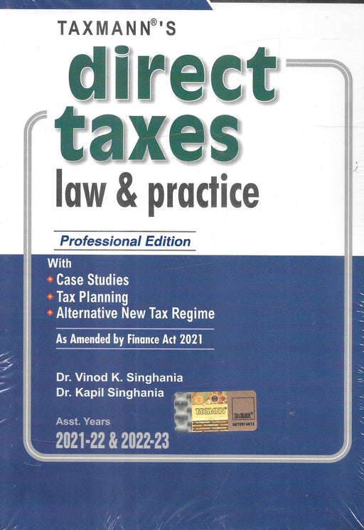 Direct Taxes Law & Practice – Professional Edition