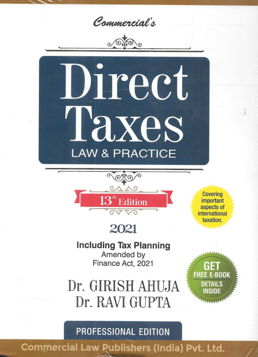 Direct Taxes Law & Practice