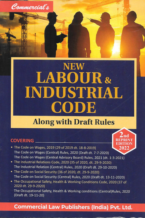 New Labour & Industrial Code Along With Draft Rules