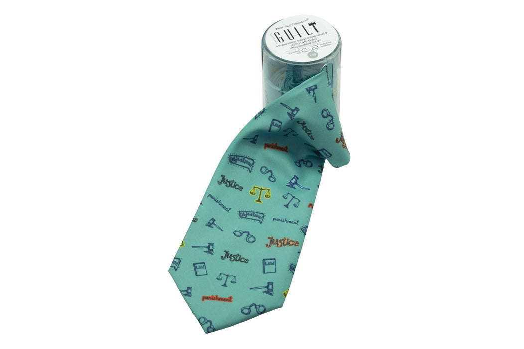 Neckwear for Lawyer - Justice