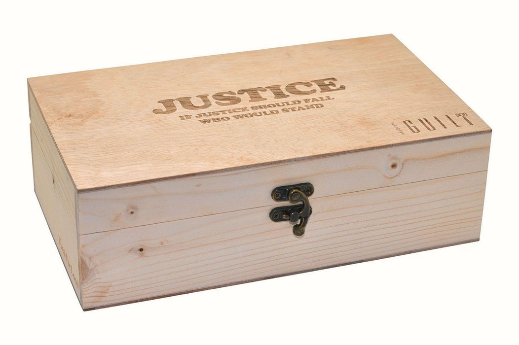 Gavel and Block and in Elegant Wooden Box