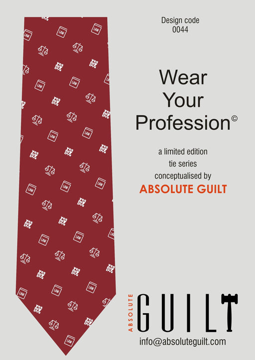 Neckwear for Lawyers - Burgundy