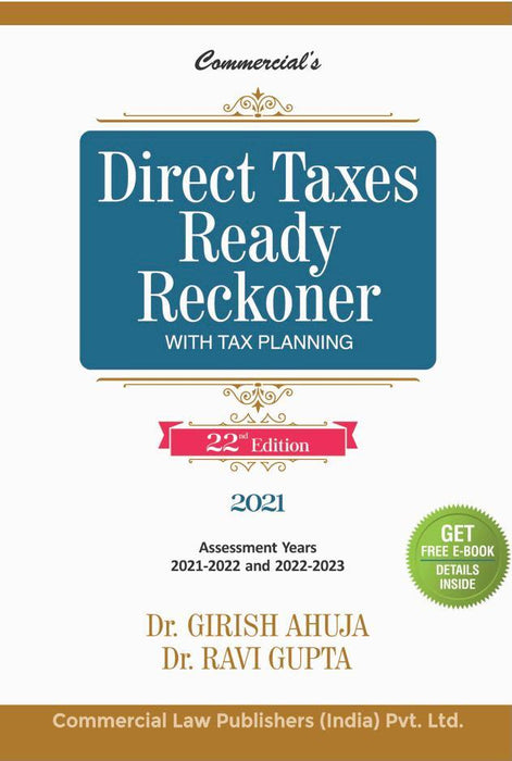 Direct taxes Ready reckoner with Tax Planning 2021