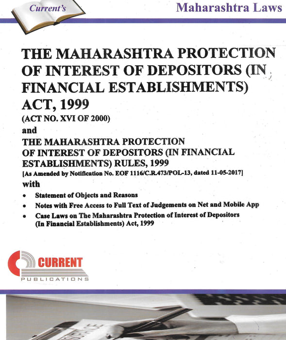 The Maharashtra Protection Of Interest Of Depositors (In Financial Establishments) Act,1999