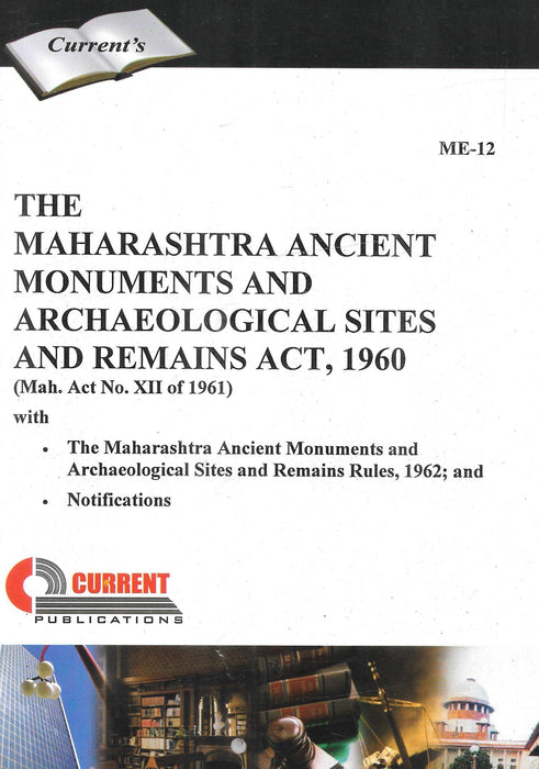 The Maharashtra Ancient Monuments and Archaeological Sites and Remains Act, 1960