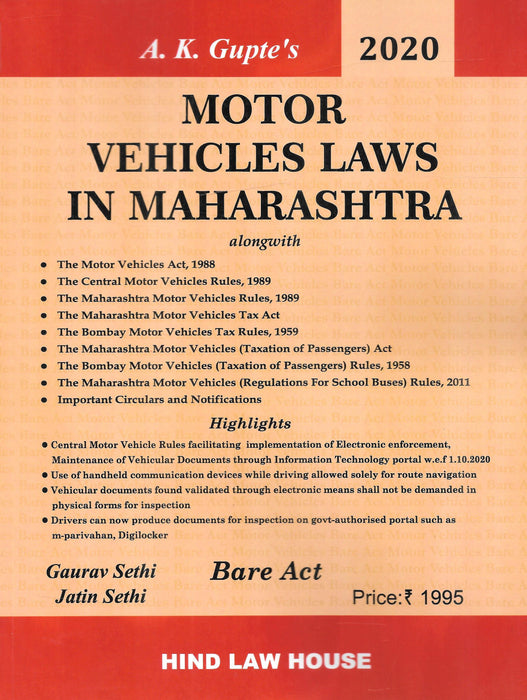 Motor Vehicles Laws in Maharashtra