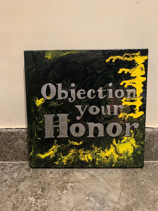 Objection Your Honor - Square Wall Hanging