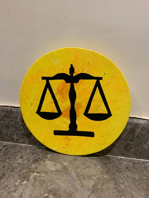 Scale of Justice - Wall Hanging