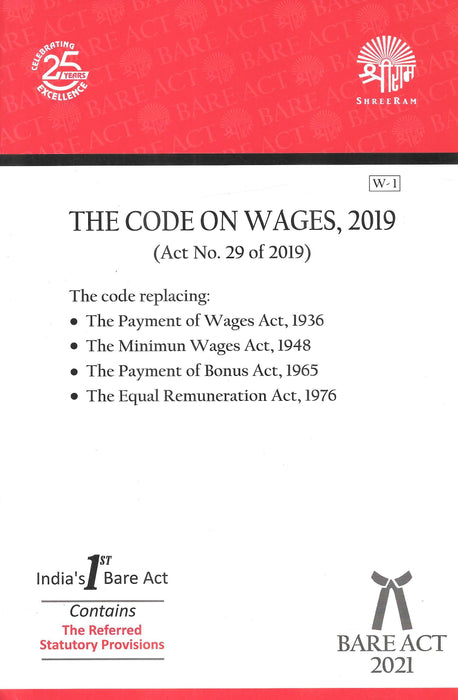 The Code of Wages, 2019