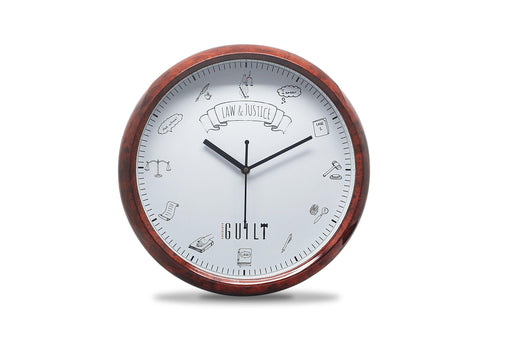 Chambers Clock - Wall Clock for Law Office's