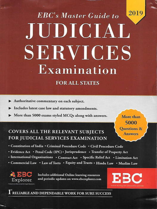 Master guide to Judicial Services Examination for all States