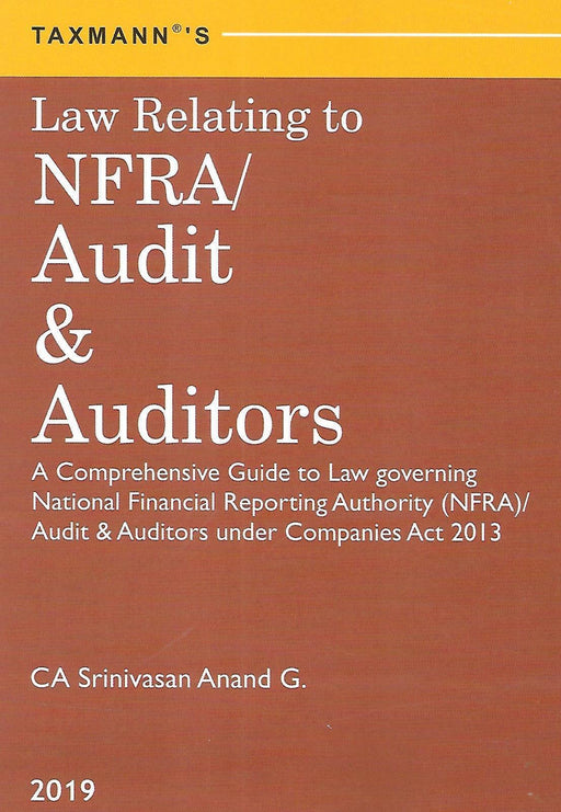 Law Relating to NFRS/Audit and Auditors