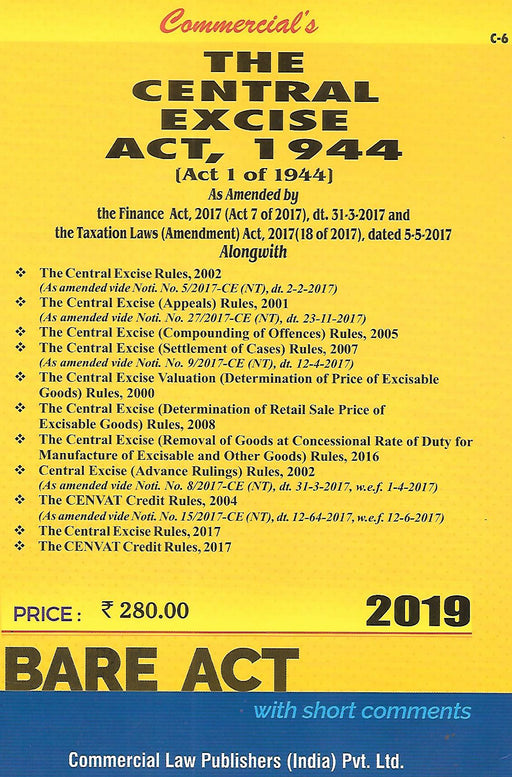 The Central Excise Act 1944