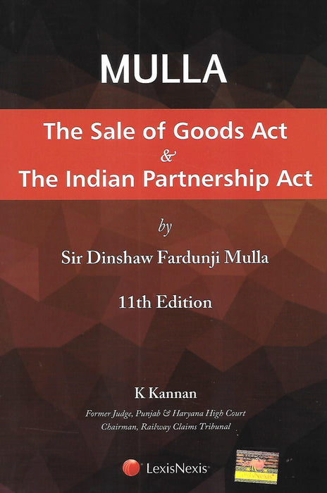 Mulla - The Sale of Goods Act and Indian Partnership Act