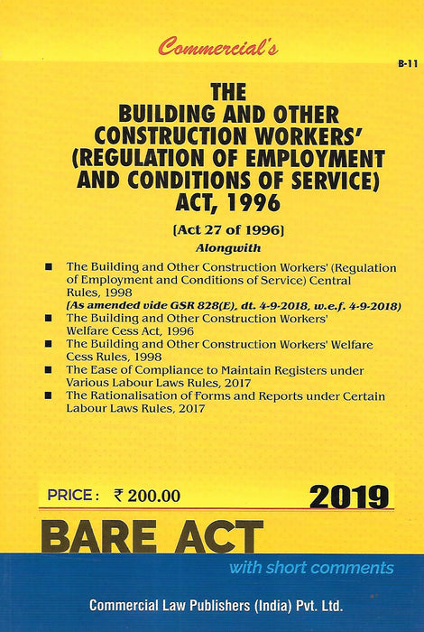The Building and Other Construction Workers (Regulation of Employment and Condition of Service) Act 1996