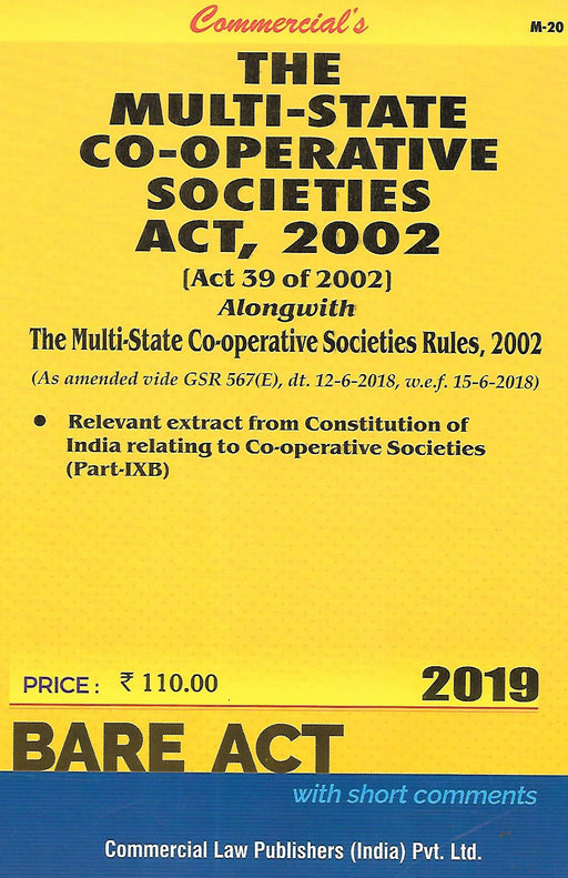 The Multistate Cooperative Societies Act 20002